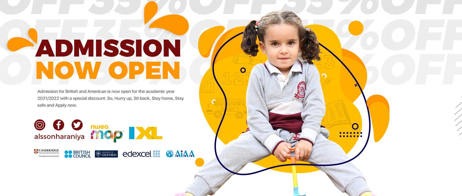 El Alsson School - Harraniya admission is open